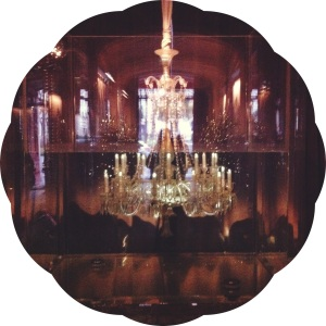 Les Musees de Paris- Paris Museums- Baccarat submerged chandelier