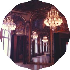 Les Musees de Paris- Paris Museums- Baccarat chandelier room
