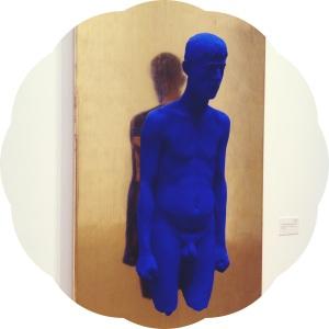 Yves Klein, Portrait relief de Martial Raysse, 1965