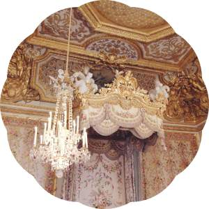 lesmuseesdeparis- chateau de versailles- bed chamber