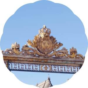 lesmuseesdeparis- chateau de versailles- gate