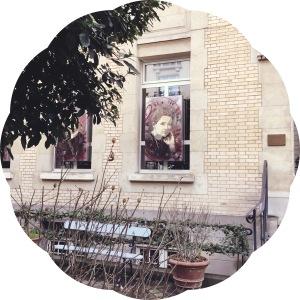 Les Musées de Paris- Musée Curie- affiche, Marie