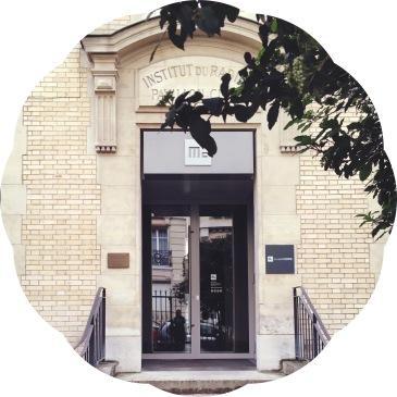 Les Musées de Paris- Musée Curie- porte